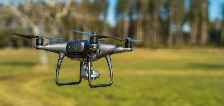Servicio de grabación con dron